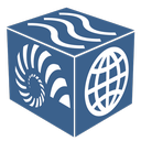 A logo of the Earthcube project.