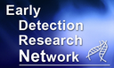 This image is the current standard of the lamentably designed logo for the Early Detection Research Network.