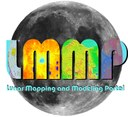 An emblematic image for the Lunar Mapping and Modeling Portal.