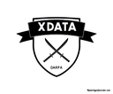 A logotype generated for the DARPA XDATA project.